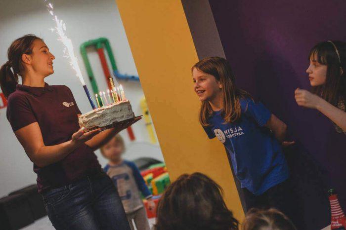 sala urodzinowa dla dzieci ełk kolej na klocki 1